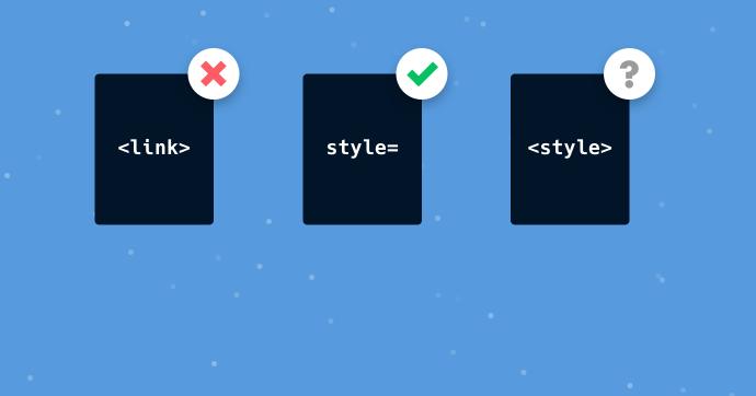 آموزش رفع خطای Put CSS in the document head